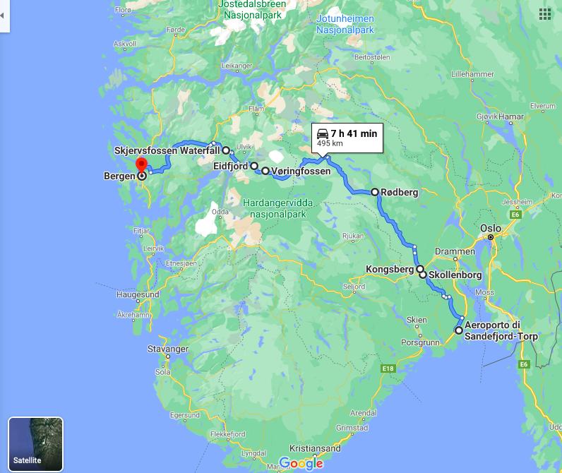 Itinerario per un road trip in Norvegia
